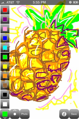 Scribble Pineapple